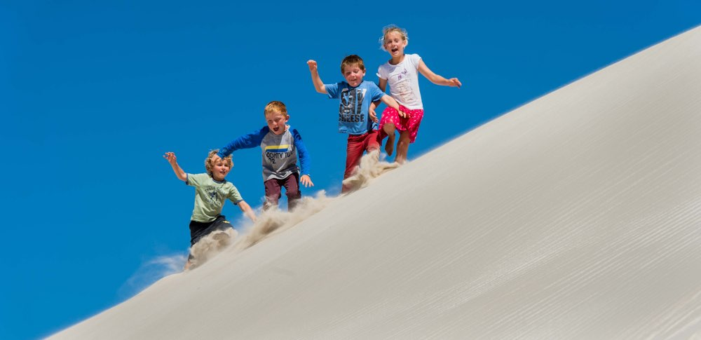 Sand dunes near Dongara